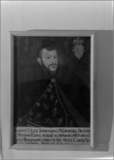 """Warszawa. Muzeum Narodowe. Wystawa pt. """"Portret Polski XVII i XVIII wiek"""". Portret Romana Sanguszko"""