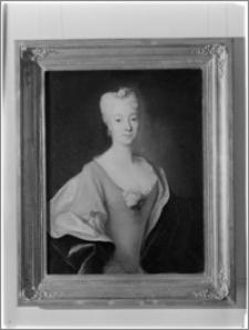 """Warszawa. Muzeum Narodowe. Wystawa pt. """"Portret Polski XVII i XVIII wiek"""". Portret Eleonory Moniki Czartoryskiej"""