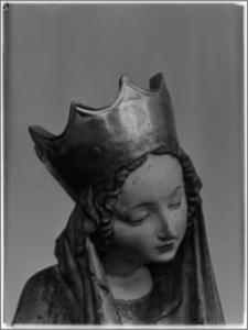 Warszawa. Muzeum Narodowe. Rzeźba gotycka - fragment
