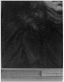 Warszawa. Muzeum Narodowe. Daniel Schultz - Portret Młodego Mężczyzny - fragment