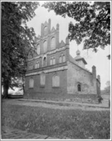 Radowiska Wielkie. Kościół pw. Św. Jakuba Apostoła - elewacja wschodnia