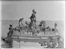 Radzyń Podlaski. Zwieńczenie oranżerii pałacowej