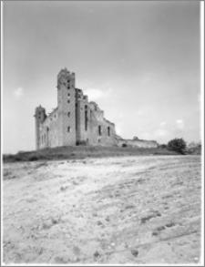 Radzyń Chełmiński. Zamek krzyżacki – widok od strony wschodniej