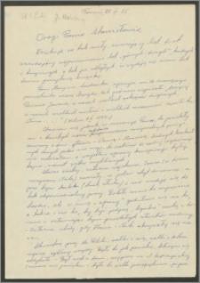 List Janiny Mahrburg z dnia 28 września 1975 roku [do Stanisława Kiałki]