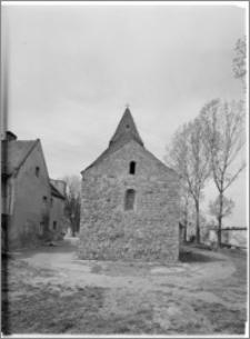 Strzelno. Rotunda św. Prokopa. Widok od strony wschodniej