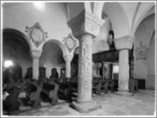 Strzelno. Bazylika św. Trójcy i Najświętszej Marii Panny. Wnętrze