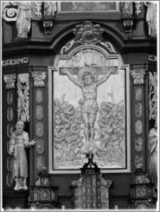Strzelno. Bazylika św. Trójcy i Najświętszej Marii Panny. Ołtarz boczny w transepcie południowym