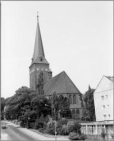 Stargard Szczeciński. Kościół św. Jana. Widok od strony wschodniej