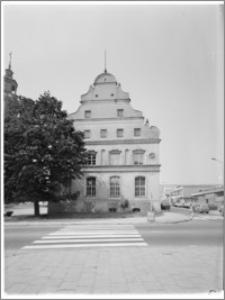 Stargard Szczeciński. Ratusz. Widok od strony wschodniej (tylna elewacja)