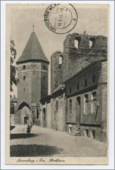 Lauenburg i. Pom. : Stockturm
