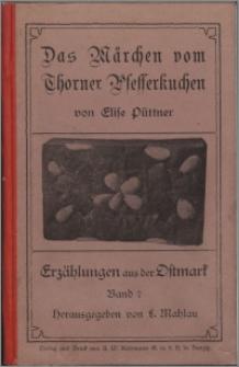 Das Märchen vom Thorner Pfefferkuchen