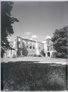 Szymbark (województwo olsztyńskie). Zamek. Widok od strony wschodniej