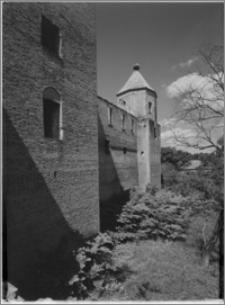 Szymbark (województwo olsztyńskie). Zamek. Strona wschodnia-fragment