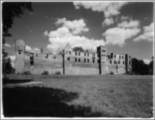 Szymbark (województwo olsztyńskie). Zamek. Widok od strony południowej