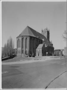 Szczecin. Katedra [ob. Bazylika archikatedralna św. Jakuba]. Widok od strony północno-wschodniej