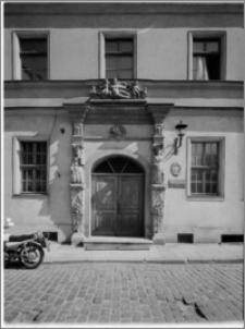 Szczecin. Kamienica przy ul. Grodzkiej 50 (dawniej: siedziba Akademii Muzycznej filia w Szczecinie)
