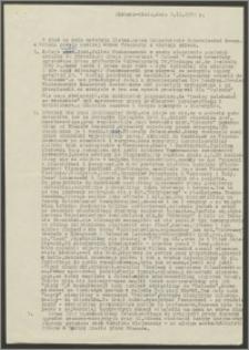 List Henryka Zaremby z dnia 2 listopada 1972 roku