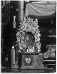 Stary Sącz. Kościół klarysek św. Trójcy i św. Klary. Wnętrze. Bozzetto ołtarza