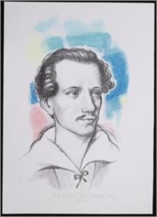 """Juliusz Słowacki 1809 - 1849. Z cyklu: """"Portrety Czołowych Pisarzy"""""""