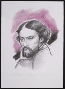 """Cyprian Kamil Norwid 1821 - 1883. Z cyklu: """"Portrety Czołowych Pisarzy"""""""