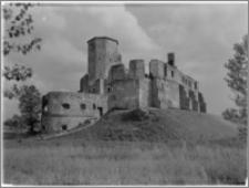 Siewierz. Zamek biskupów krakowskich. Widok ogólny