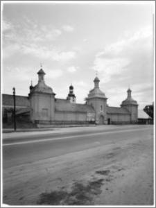 Skępe. Klasztor bernardynów. Widok od strony północnej