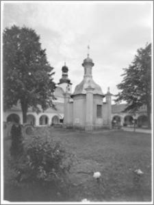 Skępe. Klasztor bernardynów. Kaplica św. Barbary. Widok od strony północnej