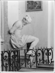 Sieraków – Kościół Pobernardyński Najświętszej Maryi Panny Niepokalanie Poczętej [fragment nagrobka Jana i Zofii Opalińskich]