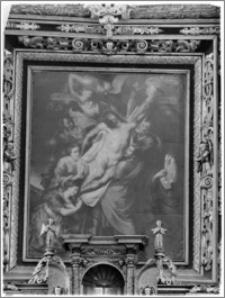 """Sieraków – Kościół Pobernardyński Najświętszej Maryi Panny Niepokalanie Poczętej [ołtarz główny, obraz """"Zdjęcie z Krzyża""""]"""