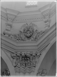 Sieraków – Kościół Pobernardyński Najświętszej Maryi Panny Niepokalanie Poczętej [fragment kopuły na skrzyżowaniu transeptu]