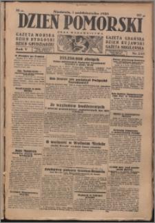 Dzień Pomorski 1933.10.01, R. 5 nr 225