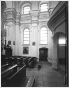 Sieraków – Kościół Pobernardyński Najświętszej Maryi Panny Niepokalanie Poczętej [fragment ściany płn. nawy]
