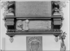 Słupsk – kościół parafialny pw. św. Jacka [fragment nagrobku księżnej Anny von Croy]