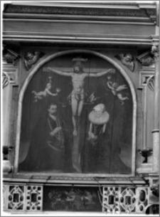 Słupsk – kościół parafialny pw. św. Jacka [ołtarz główny – obraz]