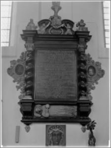Słupsk – kościół parafialny pw. św. Jacka [nagrobek księcia Ernesta Bogusława von Croya]