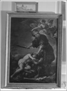 """Tarnów – Muzeum Diecezjalne, obraz """"Ofiarowanie Izaaka"""""""