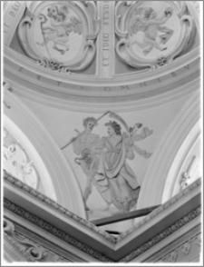 Tarłów – kościół parafialny pw. Świętej Trójcy [kaplica, fragment kopuły]