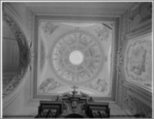Tarłów – kościół parafialny pw. Świętej Trójcy [kaplica, kopuła]