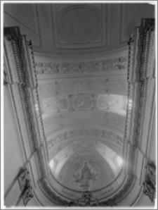 Tarłów – kościół parafialny pw. Świętej Trójcy [sklepienie prezbiterium]