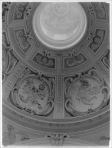 Tarłów – kościół parafialny pw. Świętej Trójcy [fragment kopuły]