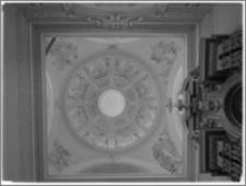 Tarłów – kościół parafialny pw. Świętej Trójcy [kopuła kaplicy płd.]