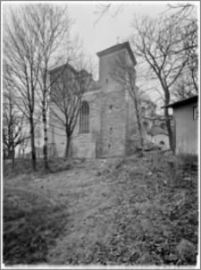 Trzemeszno – kościół parafialny pw. Wniebowzięcia NMP [elewacja zach.]