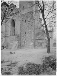 Trzemeszno – kościół parafialny pw. Wniebowzięcia NMP [fragment elewacji zach.]