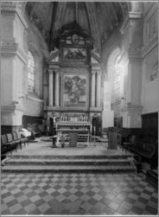 Zduńska Wola – kościół parafialny pw. Wniebowzięcia Najświętszej Maryi Panny [ołtarz główny]