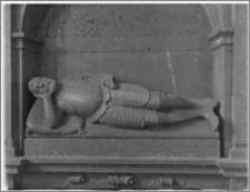 Żerków – kościół parafialny pw. św. Stanisława [fragment nagrobka Jana Roszkowskiego I]