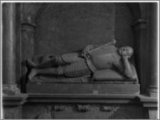Żerków – kościół parafialny pw. św. Stanisława [fragment nagrobka Andrzeja Roszkowskiego II]