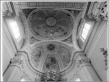 Żerków – kościół parafialny pw. św. Stanisława [sklepienie nad prezbiterium]