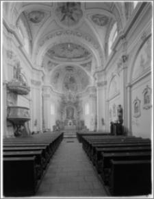 Żerków – kościół parafialny pw. św. Stanisława [widok na ołtarz główny]