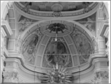 Żerków – kościół parafialny pw. św. Stanisława [sklepienie nad ołtarzem głównym]