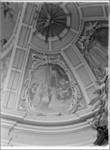Żerków – kościół parafialny pw. św. Stanisława [fragment sklepienia nad prezbiterium]